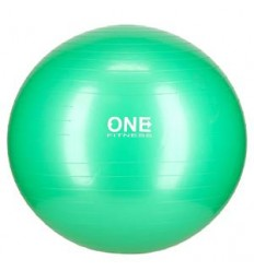 GYM BALL 10 65CM GREEN PIŁKA GIMNASTYCZNA ONE FITNESS
