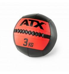 PIŁKA WALL BALL CZARNO-CZERWONA 3 KG ATX CFB-003