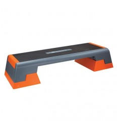 STEP DO AEROBIKU HMS AS007 BLACK/ORANGE PREMIUM