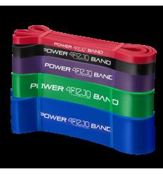 POWER BAND – ZESTAW 5 GUM DO ĆWICZEŃ