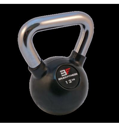Kettlebell ogumowany 12 kg AC-1254